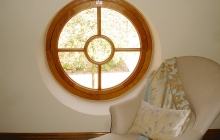 Circular Frame Window